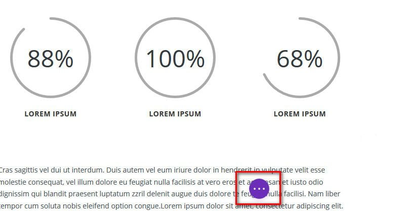 Параметры Visual Divi Builder